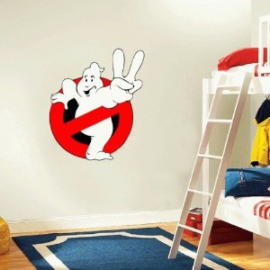 Ghostbusters Cartoon Wall Decal Sticker 21x 25 by valstick