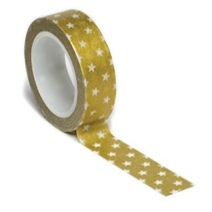 Trendy Tape Core Collection 15mmX10yd-Stars Gold (並行輸入品)