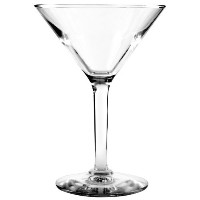 Anchor Hocking H037491 4-1/8 Inch Diameter x 5-3/4 Inch Height, 6-Ounce Ashbury Martini Glass (Case...