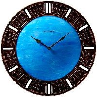 Bulova Oceanic Large Deco Wall Clock - C4371 [並行輸入品]