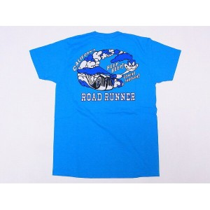 CHESWICK[チェスウィック] Tシャツ ロードランナー CH77292 ROAD RUNNER RR COMING THROUGH (TURQUOISE) 【RCP】