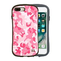 iFace First Class Military iPhone 8Plus / 7Plus ケース 耐衝撃 / ピンク