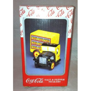 Coca Cola Delivery Truck Salt and Pepper Shakers # 270091