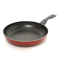 OsterオスターTelford Covered Sauce Pan 12-Inch Fry Pan レッド 085081142955
