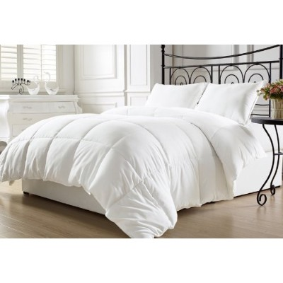 Luxury Down Alternative Comforter Duvet Insert, Full/Queen, White by Elegant Comfort [並行輸入品]