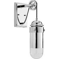 Progress Lighting P7117-1530K9 Beaker One-Light Wall Sconce, Polished Chrome by Progress Lighting