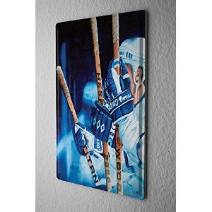 Nostalgic Tin Sign ブリキ看板 Wall Plate Hockey bench Metal Wall Plate
