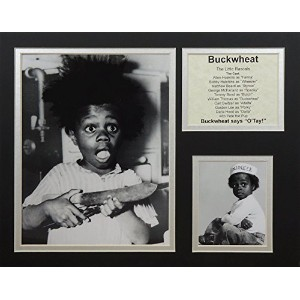 "Buckwheat – Portrait 11 "" x 14 "" Unframed Matted写真コラージュby Legends Never Die , Inc。"