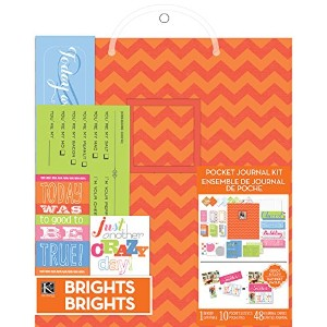 "Pocket Journal & Scrapbook Kit 8.5""X11""-Orange (並行輸入品)"
