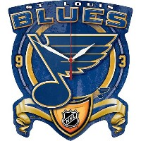 Wincraft St. Louis Blues High Definition Clock [並行輸入品]