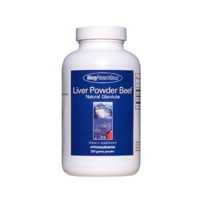 Allergy Research Group LIVER POWDER, BEEF 200g by Allergy Research Group