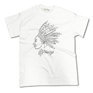 RHC Ron Herman (ロンハーマン):Chillax Native American Logo Tシャツ