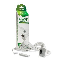 Xbox 360 Hyperkin Controller Charge Cable - White (輸入版)
