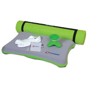 Wii 6-In-1 24 Hour Fitness Bundle - Green (輸入版)
