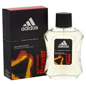 Adidas Extreme Power (アディダス エクストリーム パワー) 3.4 oz (100ml) EDT Spray for Men