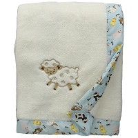 Trend Lab Framed Receiving Blanket, Baby Barnyard by Trend Lab