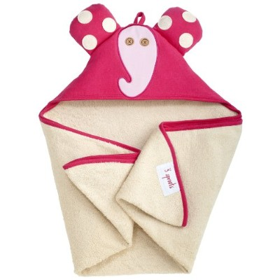3 Sprouts Hooded Towel Elephant (並行輸入)