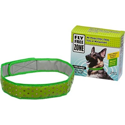 Fly Free Zone Natural Fly Repellant Dog Collar, Large 26-28 by Fly Free Zone