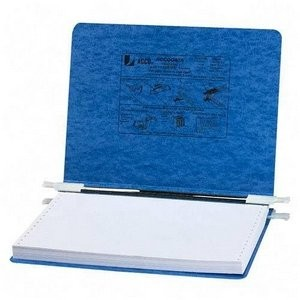 Pressboard Hanging Data Binder, 12 x 8-1/2 Unburst Sheets, Light Blue (並行輸入品)