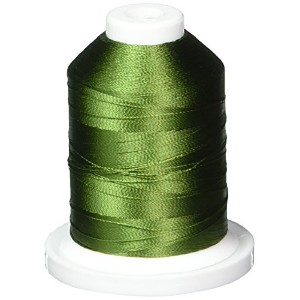 Rayon Super Strength Thread Solid Colors 1100 Yards-Palmetto (並行輸入品)