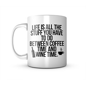 Stuff You Have To Do Between Coffee And Wine Time セラミック マグカップ コーヒーティーカップ