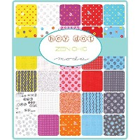 Hey Dot Charm Pack By Zen Chic; 42 - 5 Precut Fabric Quilt Squares by MoDA
