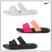 Kconcept◆韓国購入代行◆正規品◆ NIKE BENASSI DUO ULTRA SLIDE (2種) 819717-100 819717-010