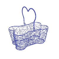 "Multi Purpose Basket 14""X9""X7""-Blue (並行輸入品)"