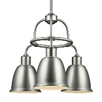 Feiss F3022/3SN 3-Light Chandelier by Feiss