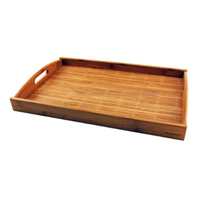 (13.5x3.54x1.02, Natural) - BergHOFF 2211833 Bamboo Tray, Natural