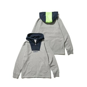XLARGE(エクストララージ)HALF ZIP PULLOVER HOODED SWEAT