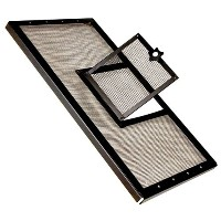 Zilla Fresh Air Terrarium Metal Screen Cover with Door (24 x 12 Inches) by R-Zilla