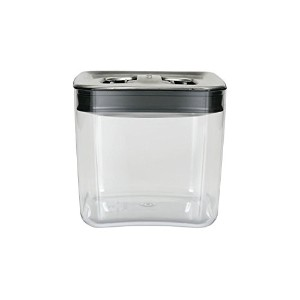 High Quality Cube 2-Quart Storage Container with Stainless Steel Lid