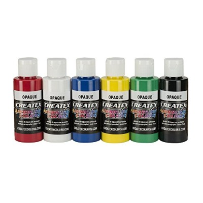 High Quality 2-Ounce AB Airbrush Set, Opaque