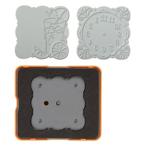 High Quality 101890-1001 Curvy Square Design Set, Complex Pattern, Medium