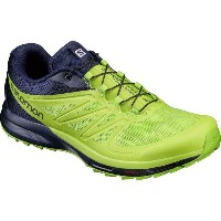 サロモン Salomon メンズ ランニング シューズ・靴【Sense Pro 2 Trail Running Shoes】Navy Blazer/Lime Punch/Lime Green