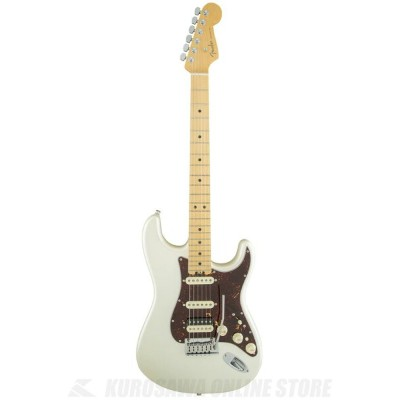 Fender USA American Elite Stratocaster HSS Shawbucker, Maple Fingerboard, Olympic Pearl《エレキギター...