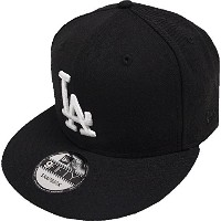 New Era Los Angeles Dodgers Black White Logo Snapback Cap 9fifty Limited Edition