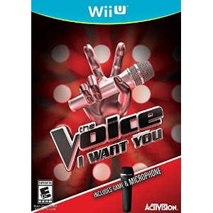 The Voice with Mic Bundle for Nintendo Wii U The Voice ニンテンドーWii U用マイク 北米版英語 [並行輸入品]