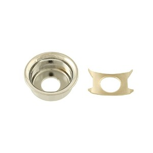 Allparts Nickel Input Cup Jackplate for Telecaster/6537