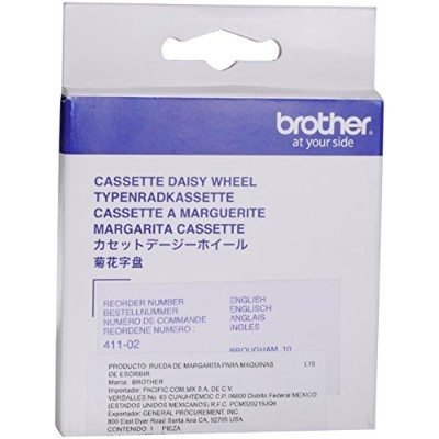 Brougham 10-Pitch Cassette Daisywheel for Brother Typewriters, Word Processors (並行輸入品)