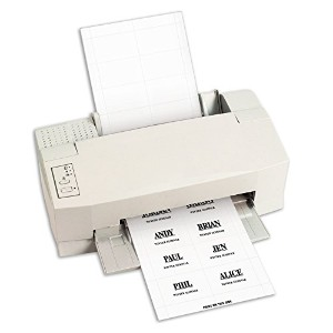 Additional Laser/Inkjet Badge Inserts, 3 1/2 x 2 1/4, White, 56/Pack (並行輸入品)