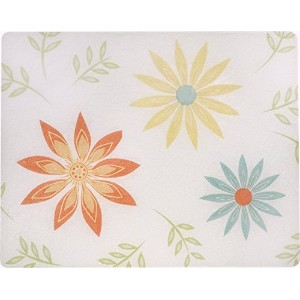 15 X 12 Corelle Happy Days Tempered Glass Cutting Board by CORELLE