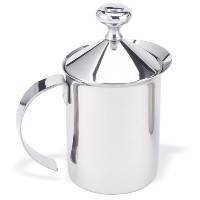 HIC Stainless Steel Milk Frother, 14-Ounce Size [並行輸入品]