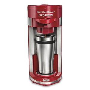 Hamilton Beach 49962 Flex Brew Single-Serve Coffeemaker [並行輸入品]