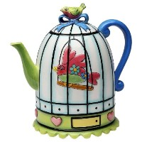 High Quality Flights of Fancy Teapot, 6-1/2-Inch
