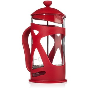 Sunlit French Press Coffee Maker, Red, 4 Cup (1 L), Brew Your Perfect Cup of Coffee or Tea [並行輸入品]