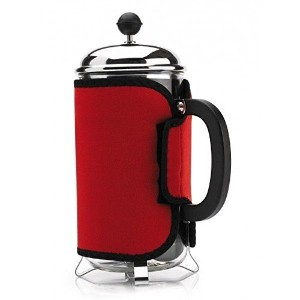 Cosy Red Cafetiere, Keep Coffee Hot! [並行輸入品]