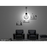 Dream Wall Wall Decal with Night Light, Shelves [並行輸入品]