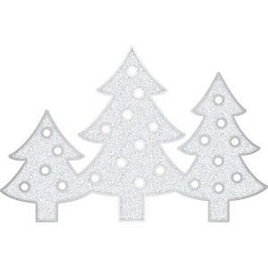 Heidi Swapp Marquee Christmas Plastic Trees Shapes [並行輸入品]